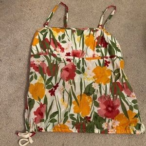American Eagle Floral Summer Top
